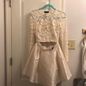 Dress. 2 piece.